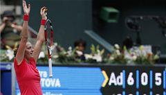 Kvitová zakončila tenisový rok jako šestá hráčka světa