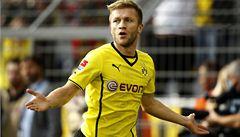 Dortmund smetl Freiburg 5:0, zraněný Darida nehrál