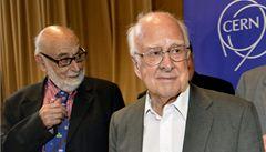 Nobelova cena za fyziku udělena, za objev Higgsova bosonu