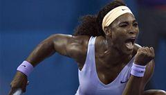 Serena Williamsová udělala dvojchybu a vybuchla. Roztřískala raketu