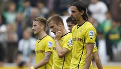 Dortmund zaváhal v Mönchengladbachu a poprvé v sezoně prohrál