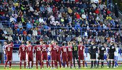 Sparta v poháru v závěru otočila duel ve Znojmě, Slavia hrála 0:0