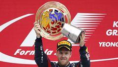 Vettel vyhrál i v Koreji, blíží se ke čtvrtému titulu mistra světa F1