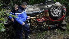 Smutný konec legendy. Loeb se ve Francii rozloučil s rallye havárií