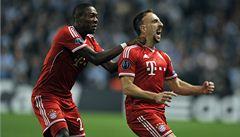 Bayern přijde o největší hvězdu. Ribéry má naštípnuté žebro