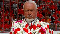 Komentátor NHL Don Cherry.
