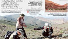 Zlato, kobalt i měď. Čeští geologové hledají suroviny v Mongolsku