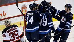 Devils opět prohráli. Frolík přihrál na dva góly Winnipegu