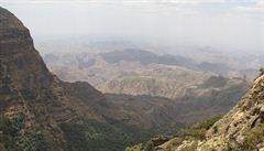 Kde je střecha Etiopie? V přírodním parku Simien