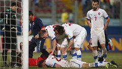 Při zápase s Maltou ztratil vědomí, teď už Pekhart znovu trénuje