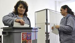 Volby očima fotografů. Lidé vybírají poslance v muzeu i ve věznici