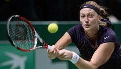 Kvitová je odhodlaná na Turnaji mistryň postoupit: Nechám tam všechno
