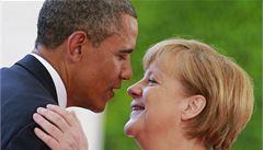 Obama: Dokud jsem prezidentem, Merkelová se odposlechů bát nemusí