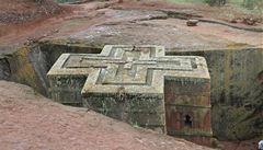 Unikátní UNESCO stavby: etiopské skalní kostely