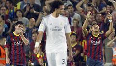 Barcelona zdolala Real 2:1, rozhodl krásný lob Sáncheze