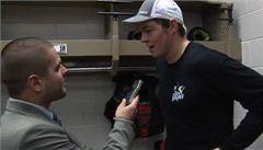 Hertl: V NHL dostávám hodně do těla. Snažím se to oplácet