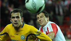Slavia je ve čtvrtfinále poháru, Varnsdorf vyřadila o gól