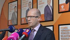 Sobotka je spokojený s rezignací Haška, Tejce a Škromacha