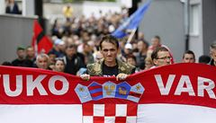 V chorvatském Vukovaru zakázali dvojjazyčné nápisy se srbskou cyrilicí
