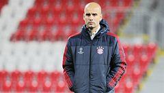 Guardiola: Plzeň se s každou porážkou zlepšuje, máme k ní respekt