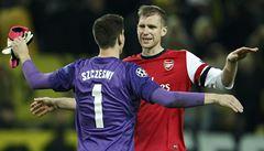 Rosický uspěl s Arsenalem na Dortmundu, Atlético slaví postup