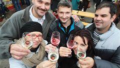 V Českém Krumlově začaly první Slavnosti vína