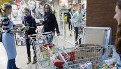 Češi sbírali potraviny pro potřebné. Zapojilo se 111 obchodů