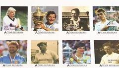 Na poštovní známky se dostane osmnáct legend českého tenisu