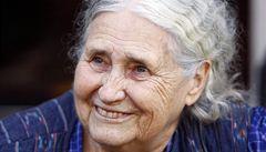 Zemřela nositelka Nobelovy ceny za literaturu Doris Lessingová