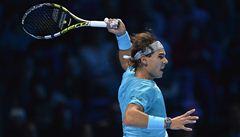 Nadal porazil Federera a podruhé si zahraje finále Turnaje mistrů