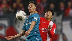 Mohuč zdolala Frankfurt. Kadlec neskóroval, Pospěch přihrál na gól