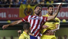 Atlético Madrid ztratilo body, s Villarrealem remizovalo 1:1