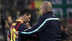 Messi má zase svalové problémy. Zraněný je už potřetí v sezoně