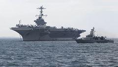 Američané pomáhají. Ke břehům Filipín posílají své letadlové lodě
