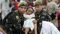 OSN na Filipínách přepočítala mrtvé. Je jich už 4460