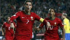 Ronaldo přiblížil Portugalsko na MS, Francie padla