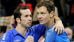 Krok od Davis Cupu. Češi ovládli čtyřhru a vedou 2:1