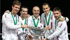 Fantazie. Skvělí Češi obhájili Davis Cup, rozhodl Štěpánek