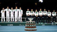 Slavná tenisová trofej je zpět v Česku, Davis Cup uvidí i fanouši