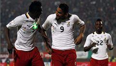 Ghana a Alžírsko postoupily na fotbalové mistrovství světa