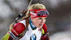 Medaile jí unikla. Biatlonistka Soukalová dojela ve sprintu čtvrtá