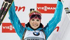 Skvělý výkon. Biatlonistka Soukalová vyhrála vytrvalostní závod