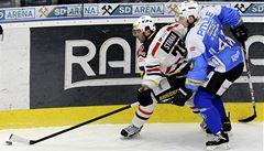 Chomutov znovu prohrál, v předehrávce nestačil na Plzeň