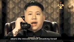 Zrušte útok na Izrael, hlásí falešný Kim Čong-un v reklamě na burgery