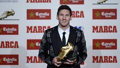 Messi je znovu nejlepším střelcem Evropy. Dal rekordních 46 branek