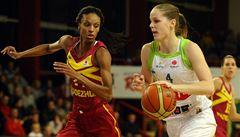 Basketbalistky Brna zdolaly Orenburg, mají první výhru v Eurolize
