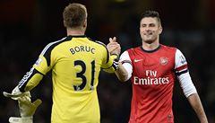 Arsenal vede v Anglii už o čtyři body, Liverpool klopýtl v derby