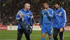 Ronaldo nedohrál kvůli svalovém zranění. Není to vážné, ujišťuje