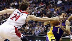 NBA: Další venkovní výhra pro Wizards, bodoval i Veselý