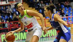Basketbalistky Brna porazily v Evropské lize Montpellier 67:64